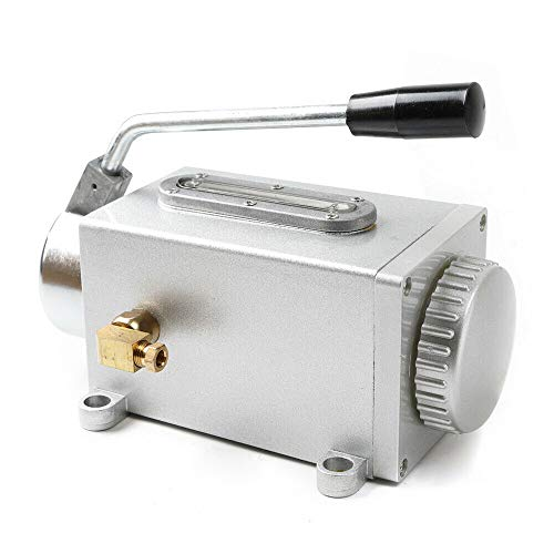 Manual Pump Oiler lubricator Hand One-Shot Lubrication f/bridge milling machine