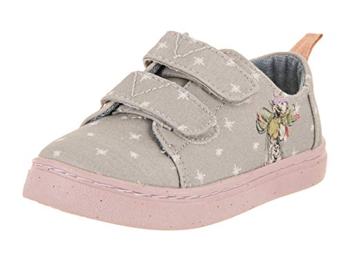 - TOMS Tiny Lenny Grey Seven Dwarfs Printed Canvas Casual Shoe 6 Infants US
