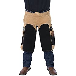 Tough-1 Professional Deluxe Leather Farrier Apron