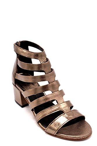 Tacco Donna Scarpa Sandalo Pelle Dei Bronzo Colli Taupe Rosso104 xqBIxYgT