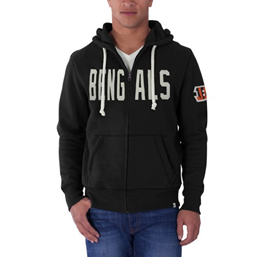 Cincinnati Bengals Full Zip Fleece - 8