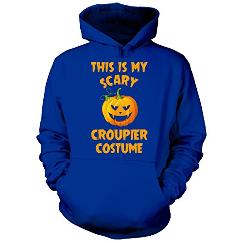 Costume De Croupier (This Is My Scary Croupier Costume Halloween Gift - Hoodie Royal M)
