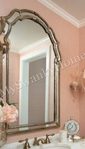 Silver SHAPED Mirror Curved Venetian product image