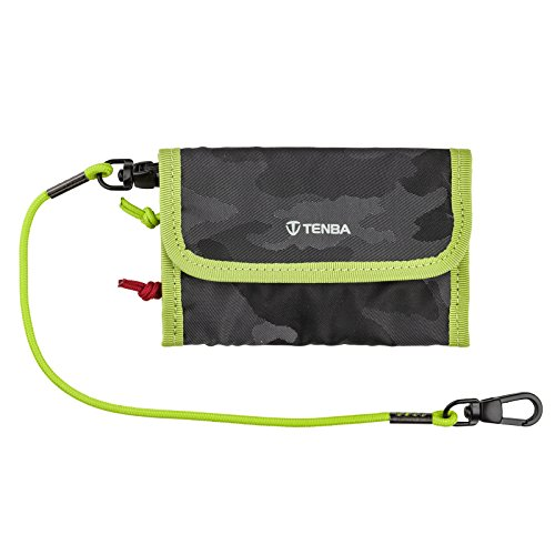 - Tenba Reload Universal Card Wallet - Camouflage/Lime (636-254)