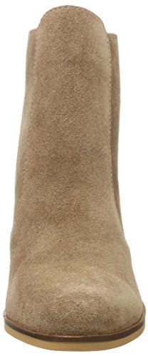 0 7044 Women's Chelsea Brown Tan Boots Cow 416 Buffalo Suede 01 qv17x