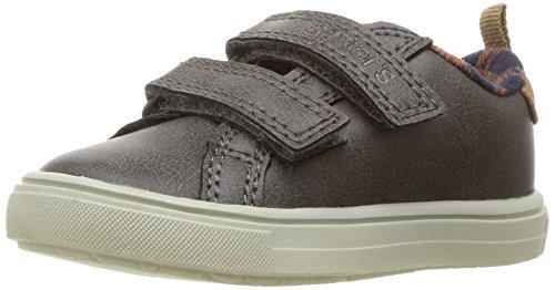 carter's Boys' Gus4 Casual Sneaker, Grey, 7 M US Toddler
