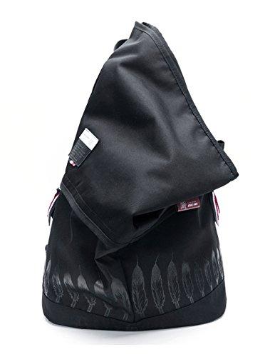 UIYI Teens Casual Waterproof Sling Bag Durable Sports Backpack 160023 (Folding Sling Back)