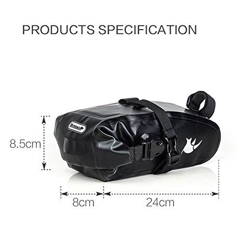 Bolsa bikepacking trasera compacta 2
