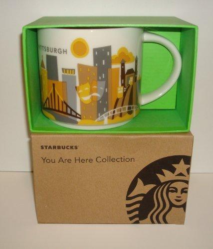 Starbucks Coffee 2013, You are here collection, Pittsburgh Mug, 14 oz.