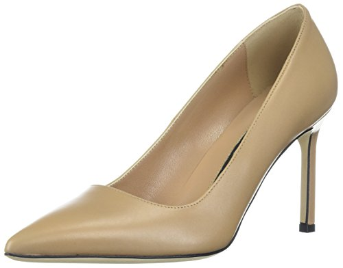 Via Spiga Women's Nikole Pump, Desert Leather, 6.5 Medium US by Via Spiga