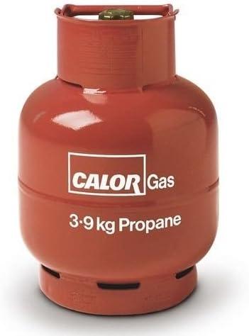 hand-tight regulador de Gas propano con manguera de 2 m + 2 Clips para calor GAS/flogas
