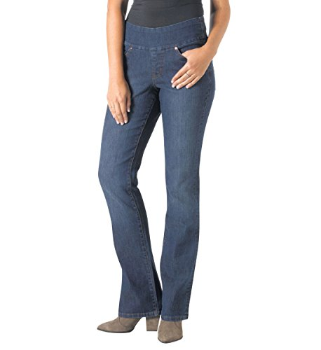 Embroidery Bootcut Womens Jeans - 7