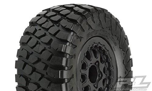 ProLine 1012313 BF Goodrich Baja T/A Kr2 M2 SC 2.2/3.0 Tires On Black Renegade Wheels for Slash/Slash ()