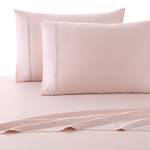 Lyon Bedroom Set (Nikki Chu 4 Piece Luxury Sheet Set, King, Rose Gold)