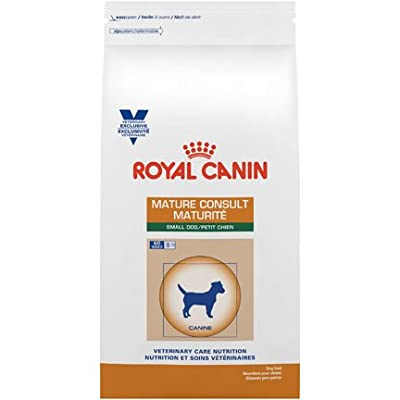 Royal Canin Veterinary Diet Mature Consult Small Dog Dry Dog Food 7.7 lb