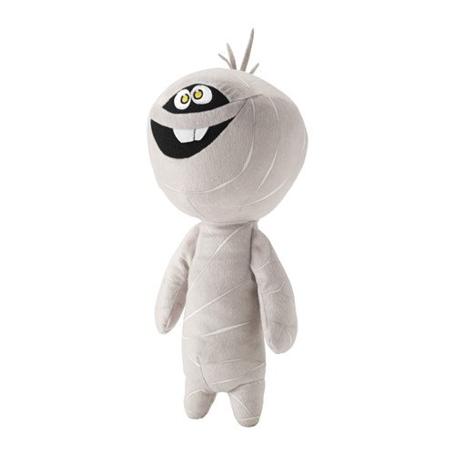 IKEA LATTJO Soft Toy Mummy, Stuffed Plush Halloween Holiday