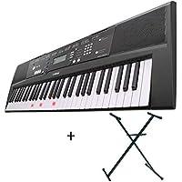 Pack Yamaha EZ-220 teclado arrangeur 61 Notes – Luminoso + soporte ...