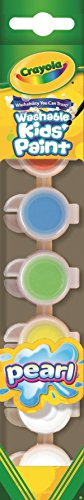 (Crayola 6ct Washable Kid's Paint w/Pearl Special Effects)