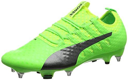 Black Scarpe Calcio Da Evopower Yellow puma Puma Uomo Verde green Sg Mx safety Vigor Gecko 01 1 FXSqBO