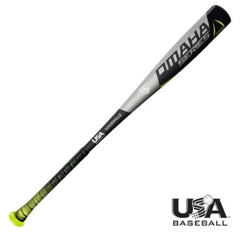 Louisville Slugger 2018 USA Baseball Bat Omaha 31 Inch 21 oz (League Youth Little Baseball Bats)