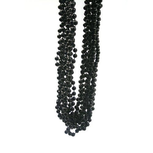 Black Beads : package of 12
