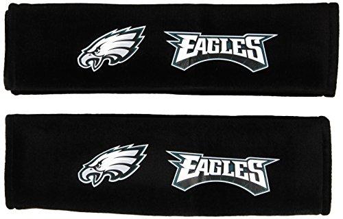 (Fremont Die NFL Philadelphia Eagles Seat Belt Pad (Pack of 2))