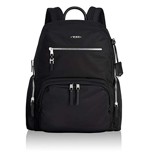 TUMI - Voyageur Carson Laptop Backpack - 15 Inch Computer Bag for Women - Black/Silver
