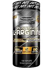 MuscleTech Platinum 100% L-Arginine, 1000 mg, 100 Caplets