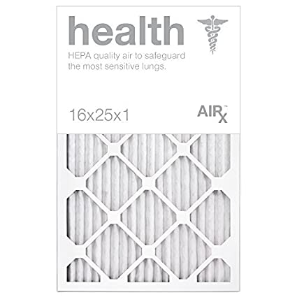 optimal for health protection - airx health 16x25x1 air filters ...