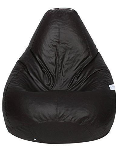 Sattva Classic Bean Bag Cover  Without Beans  XXL Size   Brown
