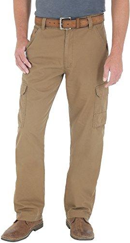 Genuine Wrangler (Wrangler Genuine Mens Ripstop Cargo Pants 34W x 30L Bronze)