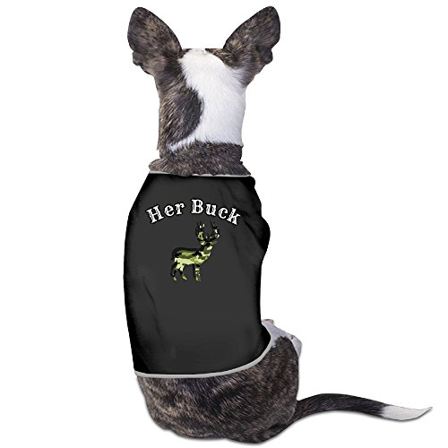 Her Buck 2 Dog Shirt 100% Polyester
