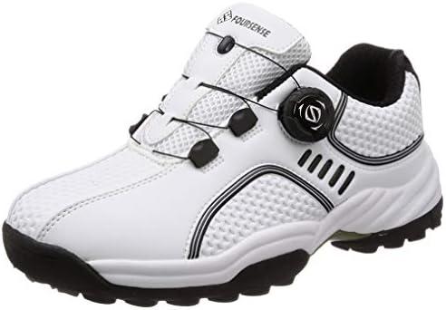 [スポンサー プロダクト][フォーセンス] ゴルフ スパイクレス ダイヤルシューズ スポーツシューズ トレッキングシューズ 登山靴 メンズ スピンオン