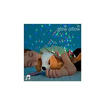 Hasëndad Glow Pillow Proyector con Sonido, Marrón Claro, 33 x 12 x 21 cm