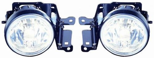 Go-Parts PAIR/SET OE Replacement for 2000-2004 Mitsubishi Montero Sport Fog Lights Lamps Assemblies Housing/Lens / Cover - Left & Right (Driver & Passenger) Side for Mitsubishi