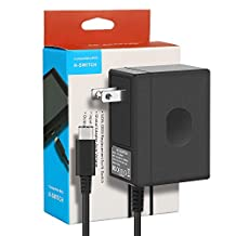 Lifegoo Charger AC Adapter Power Nintendo Switch Type C Fast Charging 15V 2.6A Compatible with N-Switch