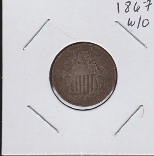 1887 Shield (1866-1883) Without Rays Nickel Very ()