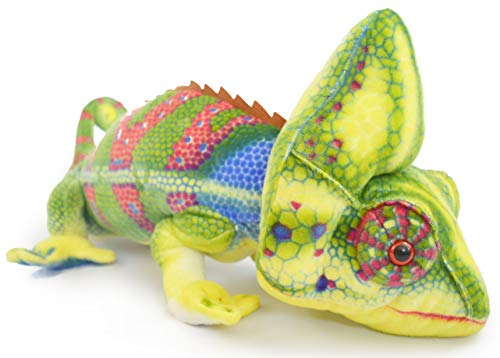 VIAHART Ahmed The Chameleon | 4 Foot Long (with Tail) Big Stuffed Animal Plush Big Long Lizard | Shipping from Texas | by Tiger Tale Toys