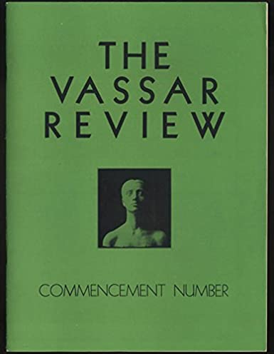 21e40a6f5a11 VASSAR REVIEW 5 1937 Commencement  Chaco Canon Dig  student art show at Amazon s  Entertainment Collectibles Store