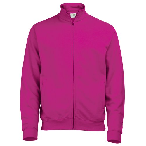 Felpa Just Fresher Rosa Donna Zip Awdis Hoods Full Sweat By Acceso wwBFT