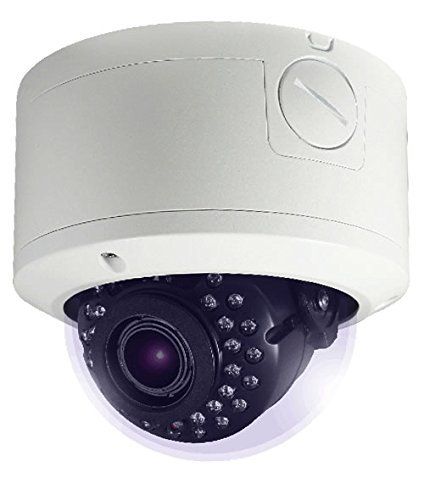 HDView 2.4MP 4-in-1 (TVI/AHD/CVI/960H) IR HD 2.8-12mm Vari Focal Lens 1080P Outdoor 12V DC/24V AC Dual Voltage, Turbo Platinum Vandal Proof Dome Camera
