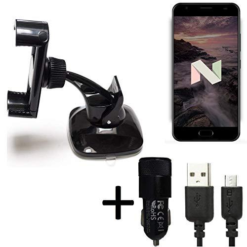 K-S-Trade® Top Set para Ulefone Power 2 Montaje Compacto ...