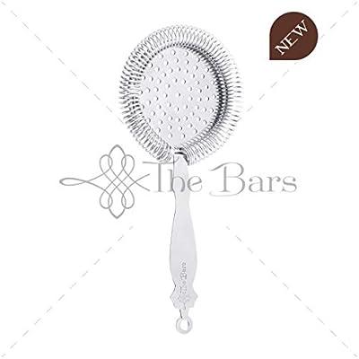 The bars Filtro Deluxe Senza linguette in Acciaio Inox 18//10 AISI 304 Strainer Barman