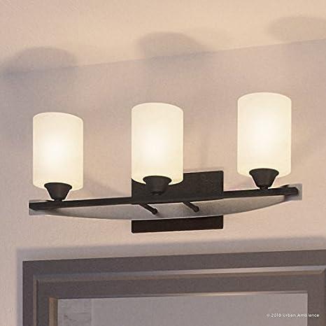 Luxury Mid Century Modern Bathroom Vanity Light Medium Size 7 875