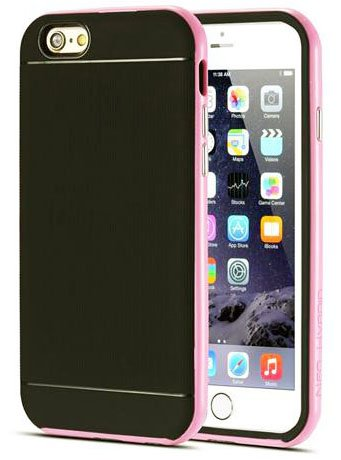 Monkey Cases® iPhone 6 PLUS - 5,5 Zoll - Silikon - rosa - Handyhülle - Soft Back Cover - ORIGINAL - NEU/OVP - pink