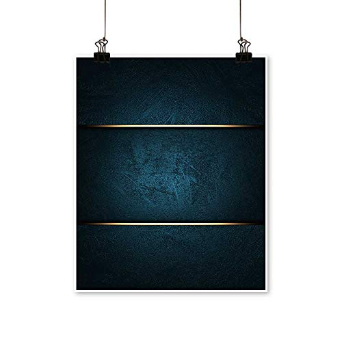 Canvas Wall Art Romantic A Beautiful Blue Background with a Blue nameplate for The Inscription. for Home Decoration,12