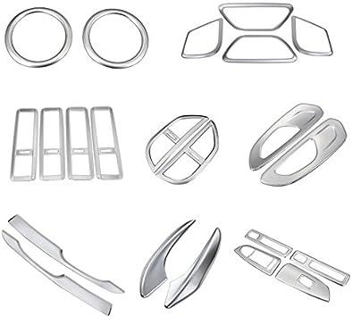 Für Vito W447 2014 2019 Interieur Dekor Abs Kunststoff Matt 22 Stück Auto