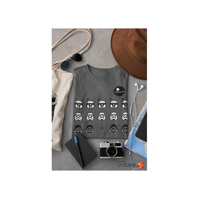 41Xjsd8iIqL Atención: Antes De Elegir Tu Talla Comprueba Las Medidas Que Aparecen A La Izquierda Debajo Del Producto Camiseta 100% Algodón, PESO: 185 g/m2 - Impresión Digital Directa Algodón