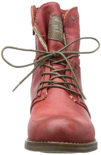 Sympatex Red Sneakers Amethyst Boots Mustang Synthetik Viol Women's Snow Klettschuhe wZtAzqT