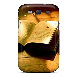 VnhgyIL2687rEAsL Case Cover Butterflies Book Galaxy S3 Protective Case by lolosakes